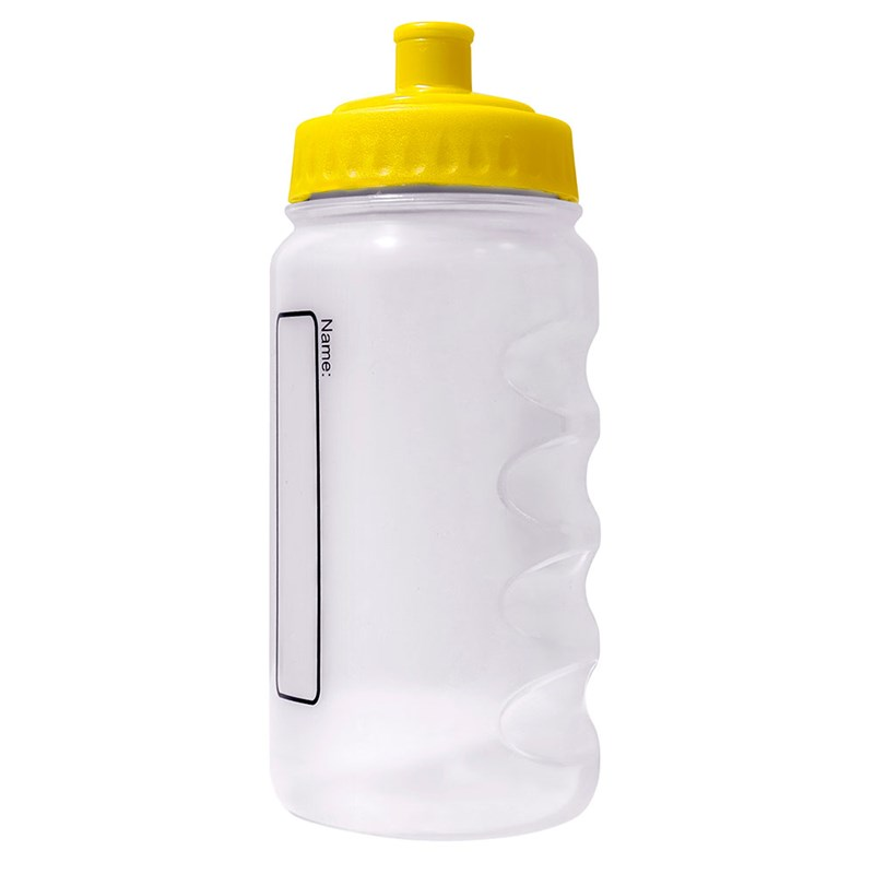 Water Bottle printed with School logo, select lid colour